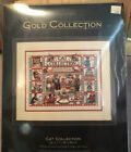 Cat Collection Dimensions Counted Cross Stitch Kit New Sealed Gold Collection
