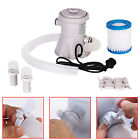 Above Ground Swimming Pool Filter Pump Water Cleaner Cleaning Tool US Plug