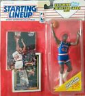 1993 Starting Lineup Brad Daugherty Cleveland #43 w/ Topps Cards