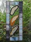 Stained Glass Gray Suncatcher frame with Geos