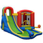 Inflatable Kid Bounce House Slide Climbing Splash Park Pool Jumping Outdoor