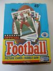 1989 Topps football box from Factory Sealed case