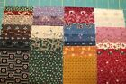 40 CIVIL WAR REPRODUCTION JELLY ROLL 25X44 STRIPS QUILT FABRIC BY MARCUS Y