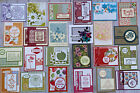 24 Handmade Thank You Friendship Birthday cards Stampin Up + more