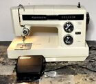 Vintage Sears Kenmore Portable 1581786081 Sewing Machine With Case Untested