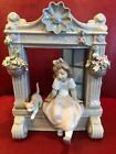 LLADRO COLLECTORS FIGURINE 6817 CHILDHOOD DREAMS GIRL ON WINDOW WITH CAT