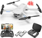 4DRC F8 GPS Drone 4K UHD Camera Wifi Brushless Quadcopter Tapfly +CASE