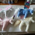 Beanie Baby Unicorns/Horses All With Hang Tag (Whiffles/Charmer/Palace/Pegasus