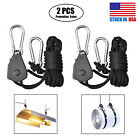 Heavy Duty Adjustable Rope Clip Hanger 150 lb Weight Capacity 1 50 Pairs