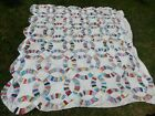 Vintage Wedding Ring Quilt from PA A+