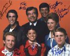 Happy Days Cast by 7 Autographed Signed 8x10 Photo Certified Authentic PSA DNA