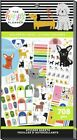 NEW The Happy Planner Colorful Dogs Value Pack Sticker Book