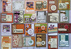 24 Fall Autumn Thanksgiving Halloween greeting cards envelopes Stampin Up more
