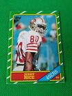Jerry Rice Rookie Card and Autograph Memorabilia Guide 6