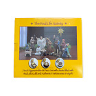 The Real Life Nativity 14 Piece Set 7 Figures Three Kings Gifts Christmas