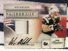 2009 Prestige PREFERRED WES WELKER Game Worn Jersey Autograph ONLY 02 10! WOW!