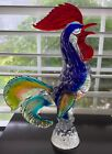 Vintage Murano Glass RoosterMURANO ItalyMINT115 inches tall