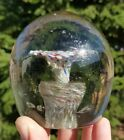 Antique Art Glass Paperweight German Marble Look 35x35 Approx swirl