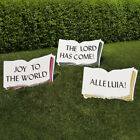 Outdoor Nativity Store Good Words Sign Set