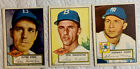1952 Topps Lot of 3 Cards