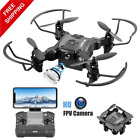 V2 Mini Drone with FPV Camera for Kids and Beginners Remote Control Foldabl