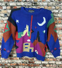 Vintage 80s 90s Santa Fe Native Western Southwest Ugly Sweater Allover Bloggers