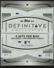 IN STOCK 2021 Topps Definitive Collection Baseball Hobby Box 8 Hits Per Box