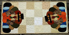 Handcrafted Quilted Appliqued Table Runner THANKSGIVING TURKEY PILGRIM