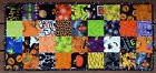 Handcrafted Quilted Table Runner HALLOWEEN REMEMBER WHEN PUMPKIN SPIDER WEBS