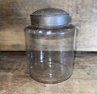 Early American Glass Pantry Jar Apothecary Specimen Jar Circa 1800s 5 3 4 Tall