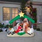 Holy Family Nativity Large Scene Christmas Outdoor Airblown Inflatable NEW