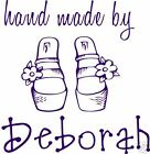 UNMOUNTED PERSONALIZED HAND MADE BY RUBBER STAMPS H87