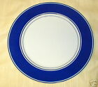 FITZ AND FLOYD RONDELET BLUE  SALAD  PLATE