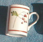 FITZ & FLOYD WINTERBERRY COLLECTION HAWTHORNE MUG
