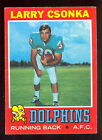 Larry Csonka Cards, Rookie Card and Autographed Memorabilia Guide 3