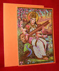 DIVINE MOTHER SARASWATI - CARD - NEW