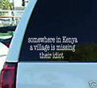 anti obama nobama somewhere kenya vinyl window decal