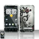 Black Vines Hard Case Snap on Cover Sprint HTC EVO 4G