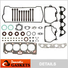 Fits 93 97 Geo Prizm Toyota Corolla 16L Head Gasket Set Bolts 4AFE