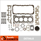 Fits 89 95 Suzuki Sidekick Geo Tracker 16L Head Gasket Set Bolts G16KC