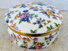 GERMANY VINTAGE ROSENTHAL SELB-PLOSSBERG PORCELAIN BOX  HAND PAINTED