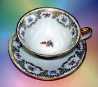 Floral Bavaria Tirschenreuth Germany Tea Cup and Saucer Set