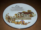1989 10 Anniversary Avon Rep California Perfume Co Collector Plate FREE US Ship