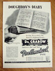 1943 Dr Grabow Pipe Ad WW II  Doughboy's Diary