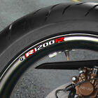 BMW R 1200R WHEEL RIM STICKERS DECALS r1200  r1200r B