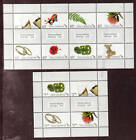 NEW ZEALAND 2010 PERSONALISED PAIR OF SHEETS UNMOUNTED MINT MNH