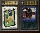 BGS 9.5 AHMAN GREEN 1998 SP AUTHENTIC FUTURE WATCH DIE CUTS ROOKIE RC 205 500