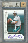 DAN MARINO 2005 SP AUTHENTIC SIGN OF THE TIMES #SOT-DM BGS 9 AU 19