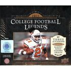 2011 Upper Deck College Legends Football Factory Sealed Hobby Box - 3 Autographs