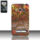 For Sprint HTC EVO 4G Protector Hard Case Snap on Phone Cover Graphiti Design
